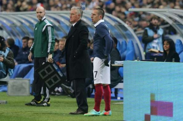 Zidane Beri Saran Pada Ribery Guna Kembali Ke Prancis