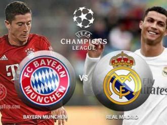 Prediksi Bola Bayern Munich vs Real Madrid 13 April 2017